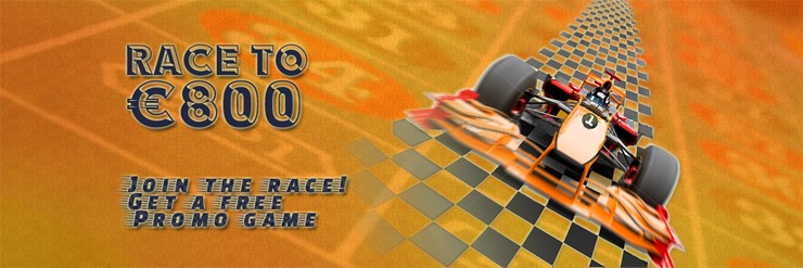 Join the race - get a free promo game!