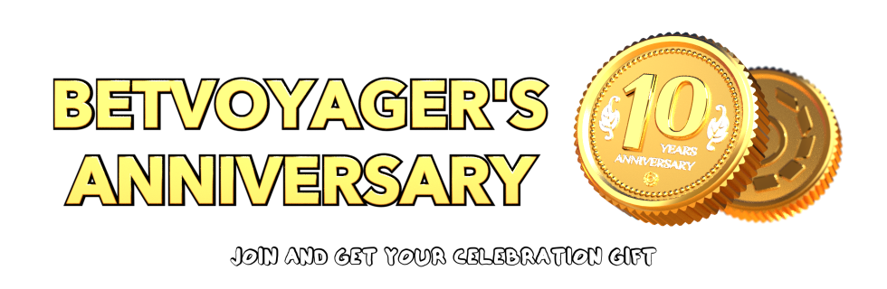 Betvoyager's Ten Years Anniversary